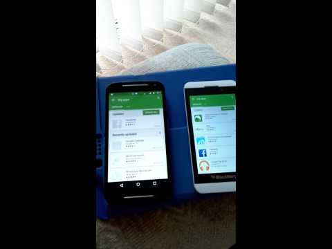Blackberry z10 android lollypop