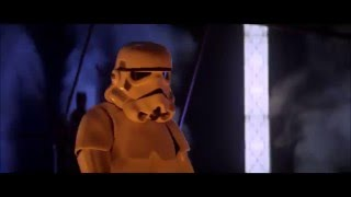 Vader saves Chewbacca and Luke is Standing There (blooper?)