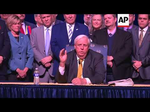 US governor signs bill raising pay for West Virginia teachers