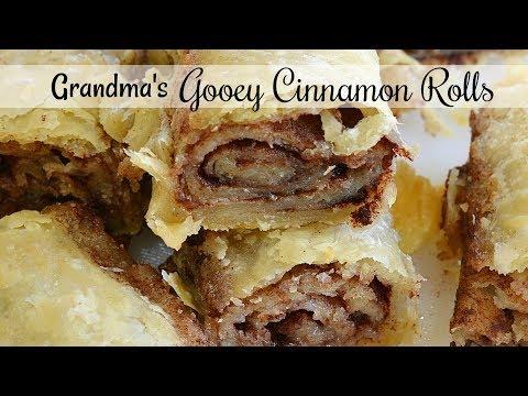 Grandma's Gooey Cinnamon Rolls