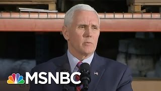 Mike Pence: Lying Or Incompetent On Michael Flynn   AM Joy   MSNBC