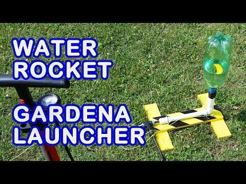 How to make a Gardena Water Rocket  Launcher