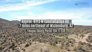 Headquarters Ranch Near Wickenburg, Az - 160 Vacant Land Online Auction - Revision