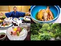 LUXURY JAPANESE FOOD Multi course Kaiseki At Traditional Onsen Hotel In Hakone Japan
