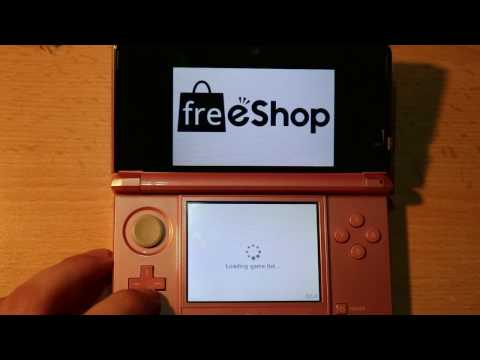 [3/3] HOW TO INSTALL FREESHOP ON 3DS