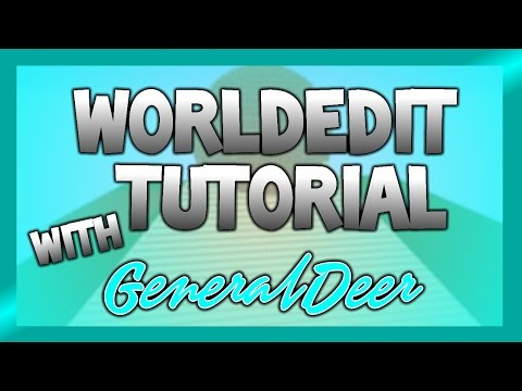 How to Make Circles and Pyramids With Worldedit - Minecraft Worldedit Tutorial