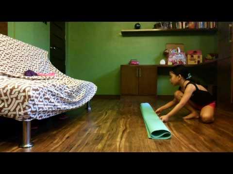 How to make a gymnastics beam diy
