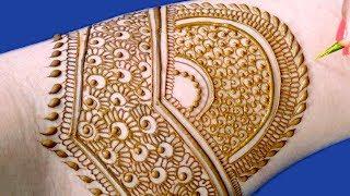 Full Hand Bridal Mehndi Design For Hands | Easy मेहँदी डिज़ाइन @ ekunji #079