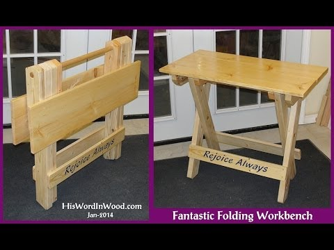 Fantastic Folding Workbench