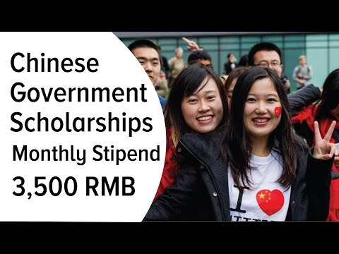 Chinese Government Scholarships 2018 _ 3,500 CNY Monthly Stipend For Phd, 3,000 MS & 2,500 BS