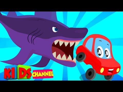 Little Red Car | scary flying shark | original Halloween songs