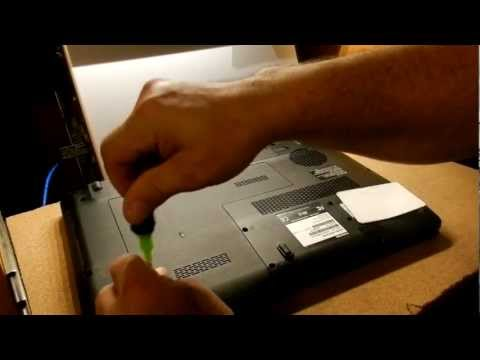 How to Remove a Toshiba Satellite L675D-S7022 Hard Drive
