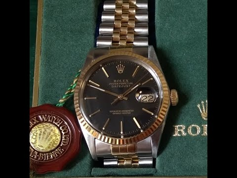 Rolex datejust set how to