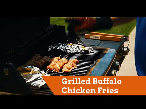Ideas for Tonight - Grilled Buffalo Chicken Fries