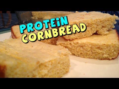 PROTEIN Cornbread Recipe (Low Fat, High Protein)