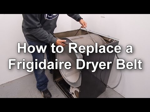 Replacing a Frigidaire Dryer Belt - How to Guide