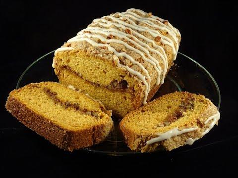 Sugar & Spice Ribbon Pumpkin Loaf- with yoyomax12