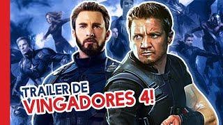 TRAILER DE VINGADORES 4 EM BREVE?!