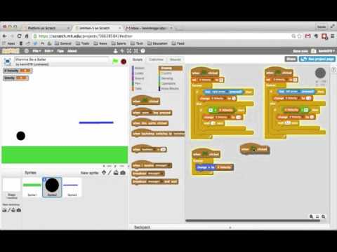 Scratch Tutorial 5  Platform Game