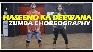 Haseeno Ka Deewana | Kaabil | Zumba fitness choreography | Vicky & Aakanksha