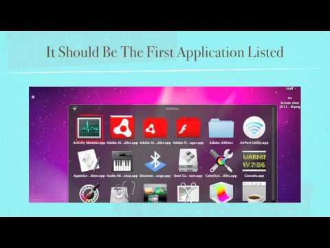 Mac Tips - Mac's Task Manager