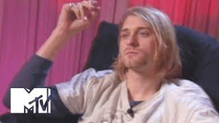 Kurt Cobain Talks Music Videos, His Stomach & Frances Bean | MTV News