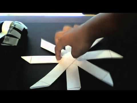 How to Make an Origami Alpha Boomerang