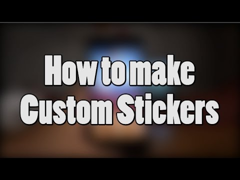 How to Make Custom Stickers in Snapchat!