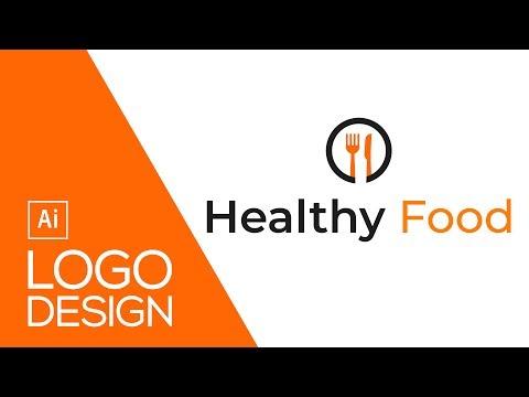 Food Logo Design Process In Illustrator Tutorial   Professional Logo Design   Maxpoint-Hridoy