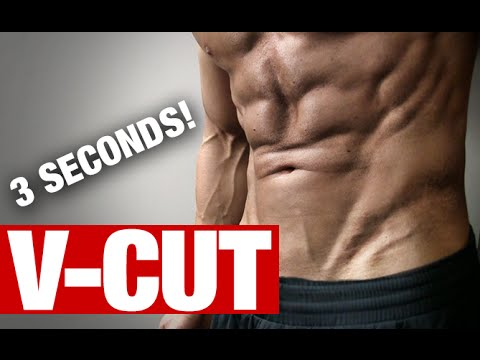 V-Cut Ab Exercises (BETTER IN 3 SECONDS!)