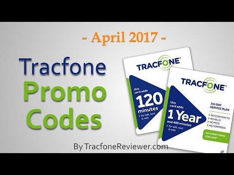 Tracfone Promo Codes - April 2017 - TracfoneReviewer