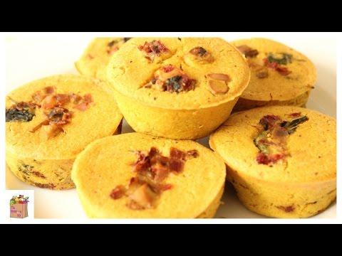 Vegan 'Egg' Muffins | The Mushroom Den