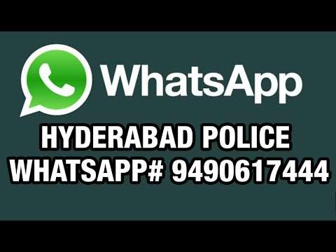 Hyderabad Police WhatsApp recieves huge response - Cyberabad Police Commissionerate (13-03-2015)