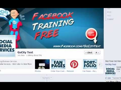 Drive Traffic to your Facebook Fan Page part 1