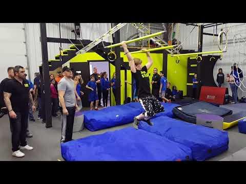 American Ninja Association Hybrid vs. The Edge run 1.27.18
