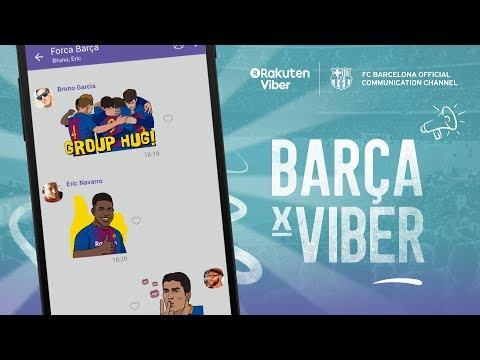 The Ultimate FC Barcelona Experience is Now on Viber!