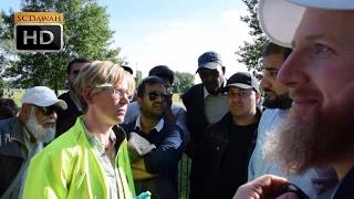 P1 - Cunning Claims! Hamza & Adnan Vs Lizzie   Speakers Corner   Hyde Park