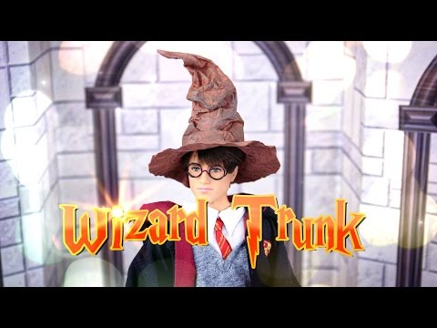 DIY - How to Make:  HARRY POTTER Wizard Trunk - Handmade - 4K
