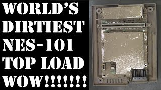 World's dirtiest NES-101 top loader Nintendo!!!