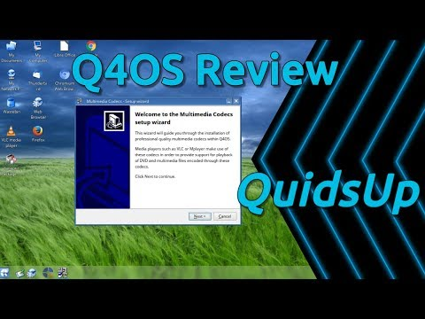 Q4OS 2.7 Linux Review - Classic XP Styling with Trinity Desktop