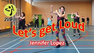 Let's Get Loud Zumba Warming Up - Jennifer Lopez - Dance Passion