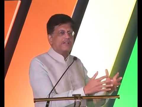 Piyush Goyal at the launch of SBI Card 'UNNATI'