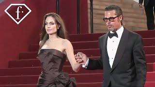 Brad Pitt + Angelina Jolie @ The Tree of Life Premiere, Cannes Film Festival 2011   FashionTV - FTV