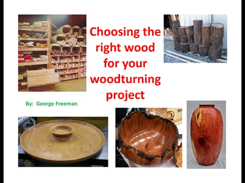 wood species - Choosing the right wood for your woodturning project - Part 3