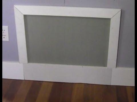 RicksDIY Making A Simple Drywall Access Panel.wmv