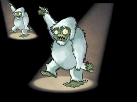 Plants vs Zombies - Yeti Zombie can Dance! (feat. Crazy Dave)