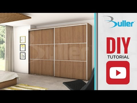 Wardrobe Sliding Door Track for DIY
