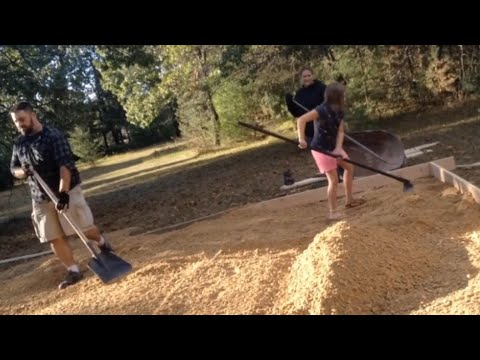 How To Prep a Concrete Slab as WE BUILD A DOG KENNEL- PART 1