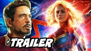 Download Captain Marvel Trailer Teaser and Avengers 4 Trailer News Breakdown Video