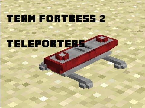TF2 Mod - TELETRANSPORTADORES en Minecraft